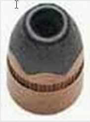 A semi-jacketed hollow point bullet (SJHP)